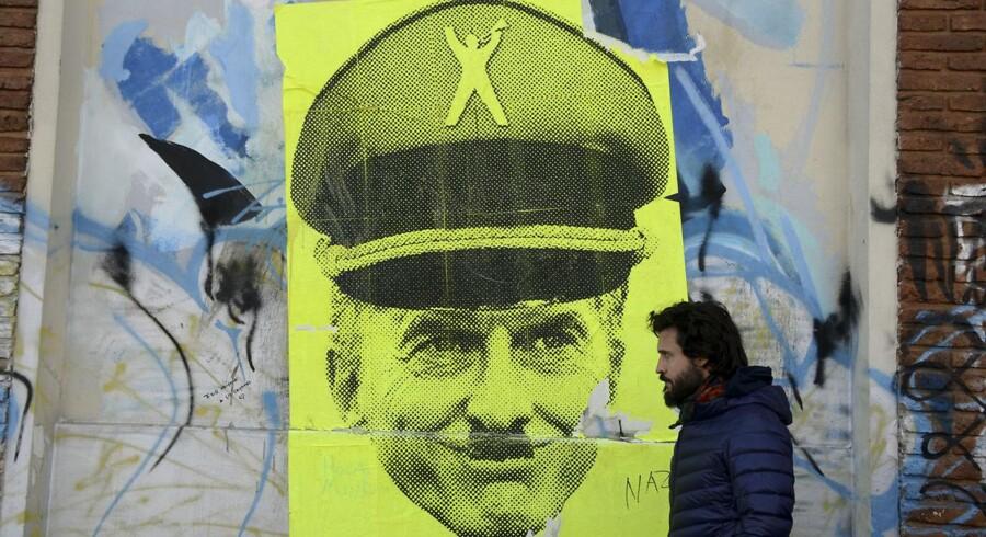 Argentinas præsident, Mauricio Macri, er en af mange, der må se sig sammenlignet med Adolf Hitler.