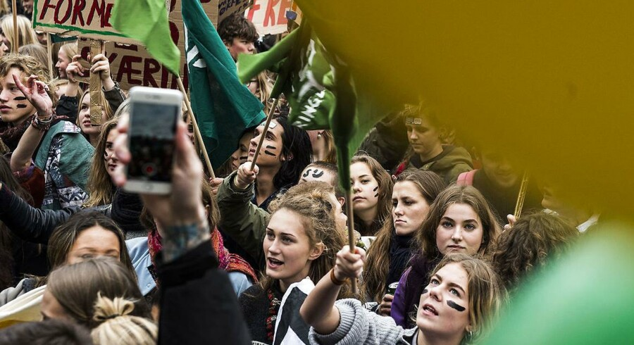 Studerende har flere gange været på gaden i protest over nedskæringer, SU-forringelser og uddannelsesloft.