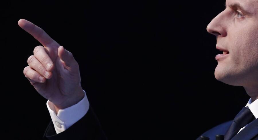 Emmanuel Macron vil ikke reformere Frankrig, men »transformere vores land fuldstændigt og radikalt«, lovede den uafhængige kandidat under præsentationen af sit valgprogram.