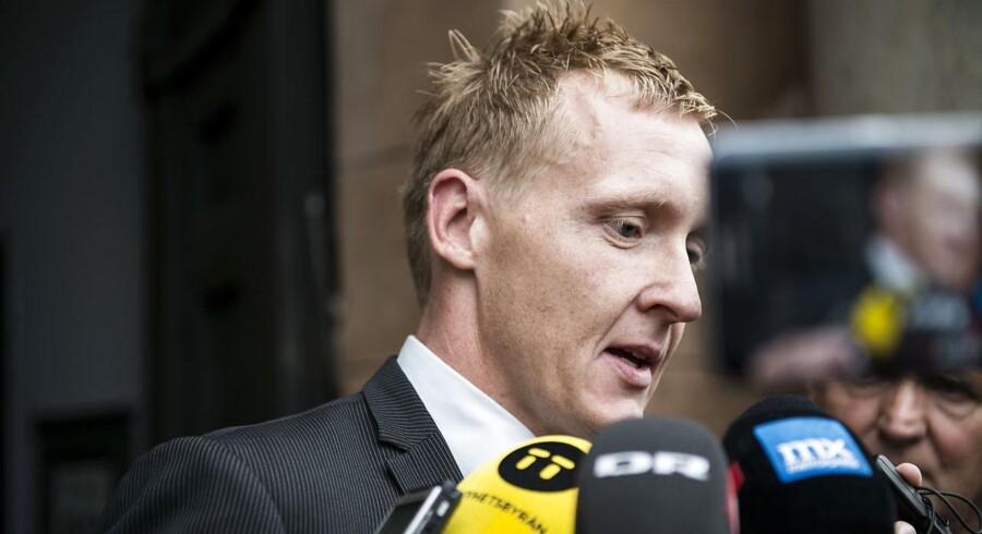 Anklager Jakob Buch-Jepsen foran byretten i København efter Peter Madsens varetægtsfængsling blev forlænget.(Foto: Sarah Christine Nørgaard/Scanpix 2017)