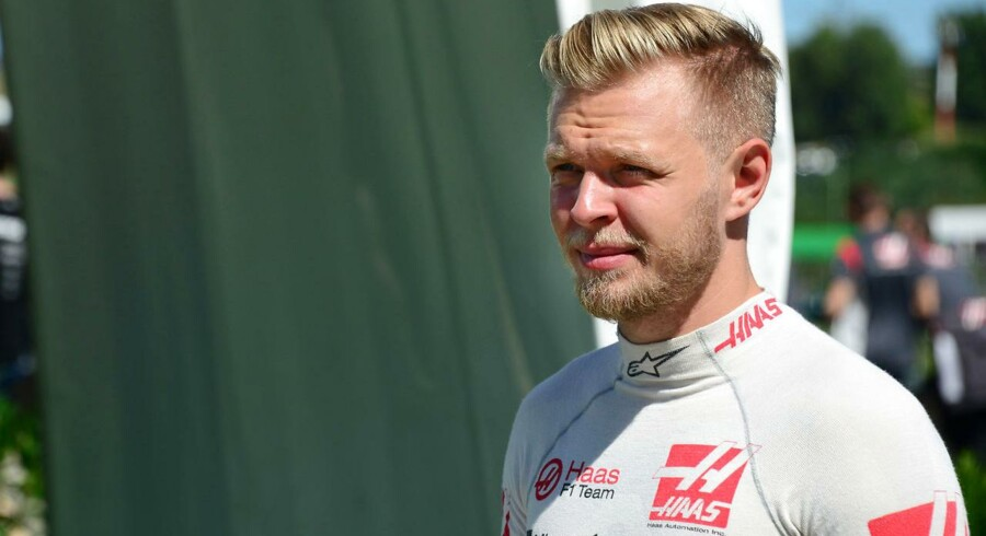 Kevin Magnussen (Haas-Ferrari) before the 2017 Hungarian Grand Prix at the Hungaroring outside Budapest. Photo: Grand Prix Photo. (Foto: /Scanpix 2017)