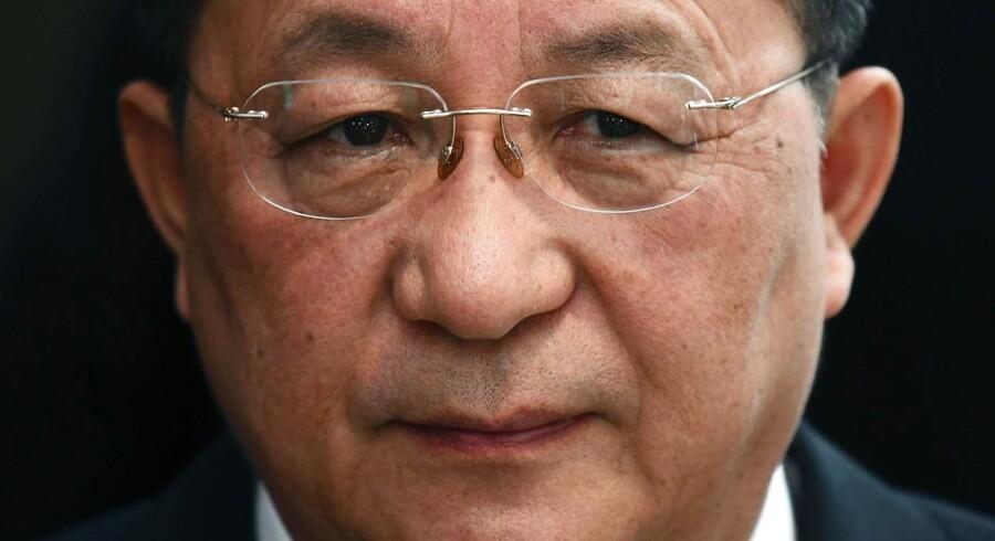 Den nordkoreanske udenrigsminister, Ri Yong-ho.