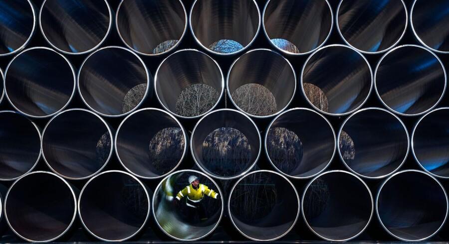 Nord Stream 2 er en stor, planlagt udvidelse af gasledningen Nord Stream, der løber fra området omkring Sankt Petersborg via Nordsøen til Europa.