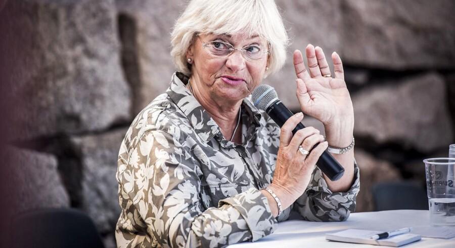 Arkivfoto: Folketingets formand Pia Kjærsgaard til Folkemødet på Bornholm i 2017.