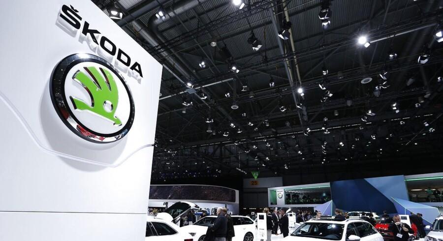 Skoda vil lave elbiler med hurtig opladning.