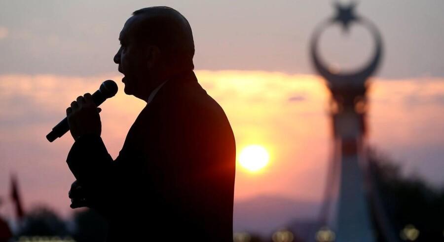 Arkivfoto. Frem til 19. oktober kan tyrkiske myndigheder bruge ekstra magt på grund af kupforsøget sidste sommer.