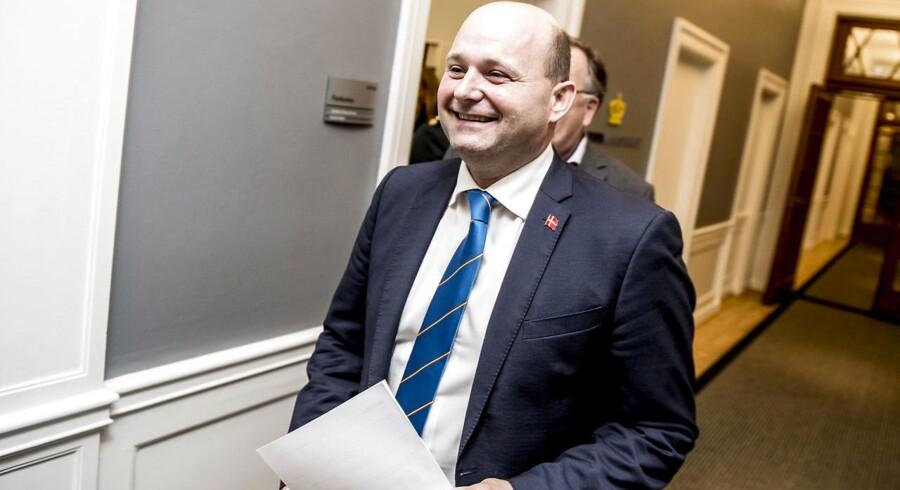 Arkivfoto: K har otte borgmestre og holdt Frederiksberg, Helsingør og Høje-Taastrup, siger partileder Søren Pape Poulsen.