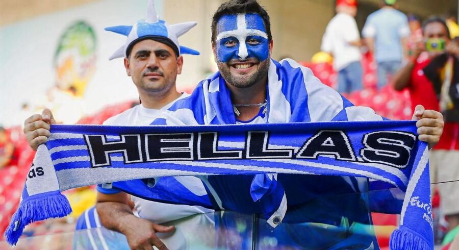 Arkivfoto. Grækenland pligtsejrede med 4-0 over Gibraltar og sørgede dermed for en playoffplads i VM-kvalifikationen.