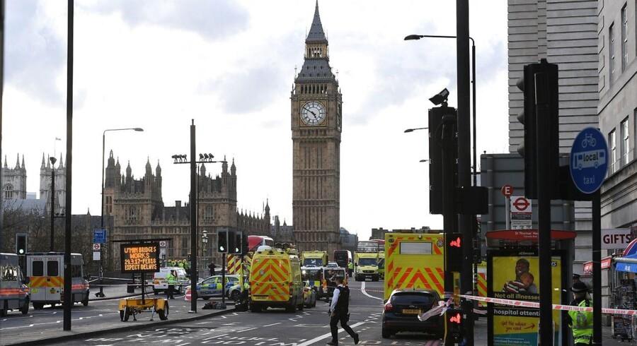 Den engelske hovedstad London blev onsdag eftermiddag ramt af et angreb.