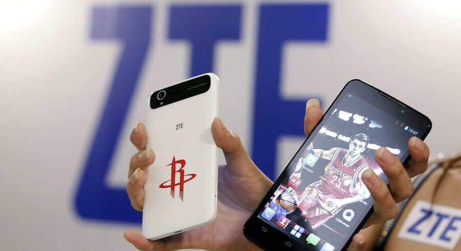 For fremtiden skal amerikanske virksomheder bede om særlig tilladelse til at handle med det kinesiske teknologiselskab ZTE. Arkivfoto.