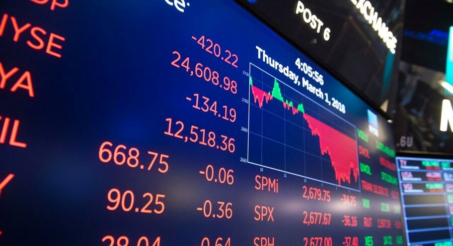 Der er fredag langt mellem de stigende aktier i Europa efter Trumps udmelding om told på metalimport til USA og dermed øget risiko for en decideret handelskrig.