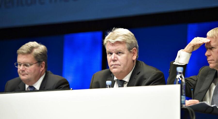 Arkivfoto. Vestas-formand Bert Nordberg har længe gået med et uopfyldt ønske om at få en langsigtet storaktionær ind i Vestas' ejerkreds med en post på 15-20 pct.
