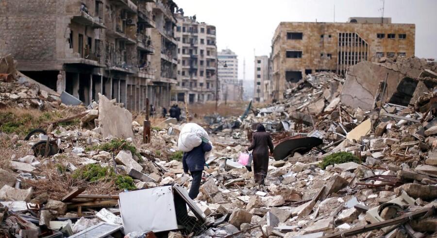 Fra krigen i Syrien.