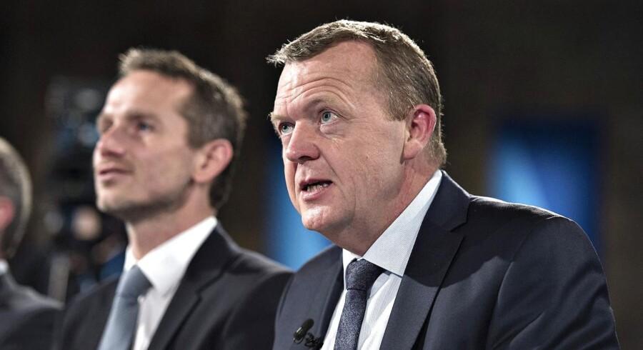 Kristian Jensen vil gerne afløse Lars Løkke Rasmussen som Venstre-formand.