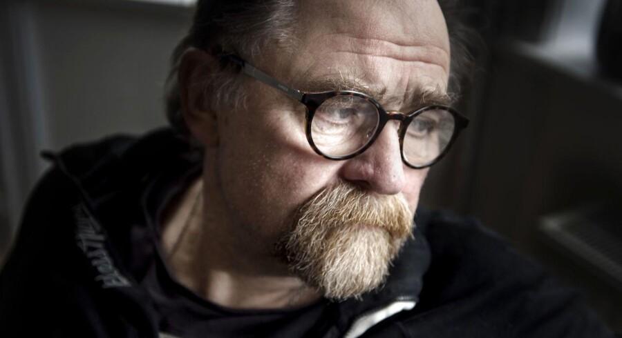 CBS-professor i ledelsesfilosofi Ole Fogh Kirkby fotograferet i sit hjem på Frederiksberg