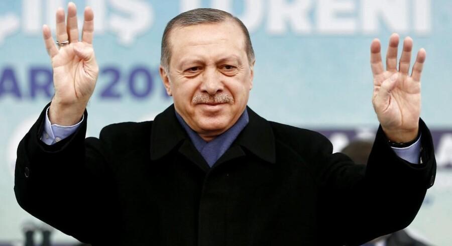 Recep Erdogan. Arkivfoto: Scanpix