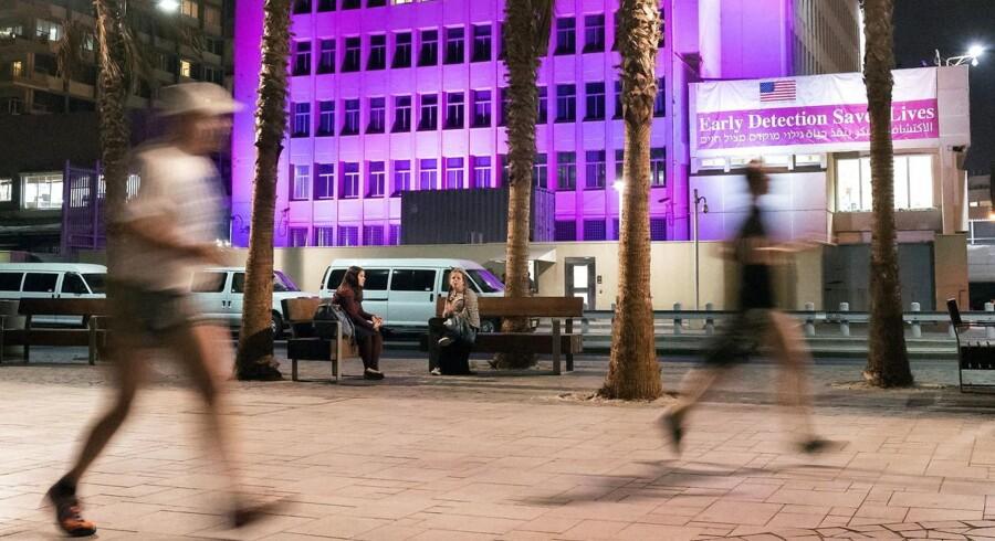 Billede fra Tel Aviv.