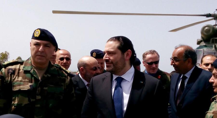Arkivfoto. Libanons premierminister, Saad al-Hariri.