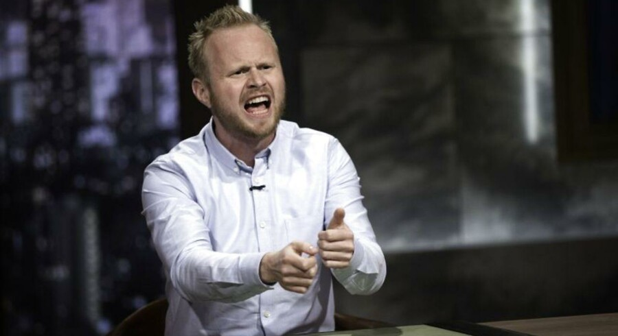 Tiden råber på et satirisk comedyshow om ugens begivenheder. Men Jonatan Spang kan være endnu skarpere end i åbningsprogrammet. Foto: Bjarne Bergious Hermansen.