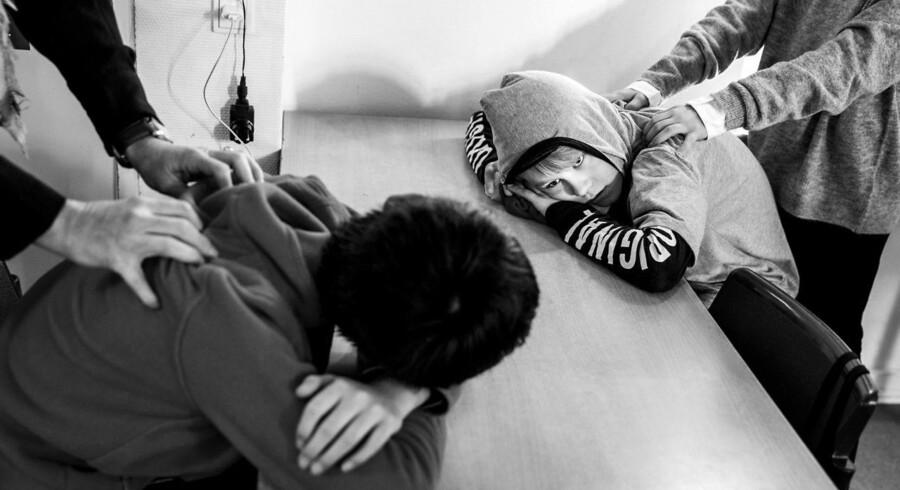 På Hørsholm Skole laver de drømmerejser med børnene, som skifter til at massere hinanden undervejs.