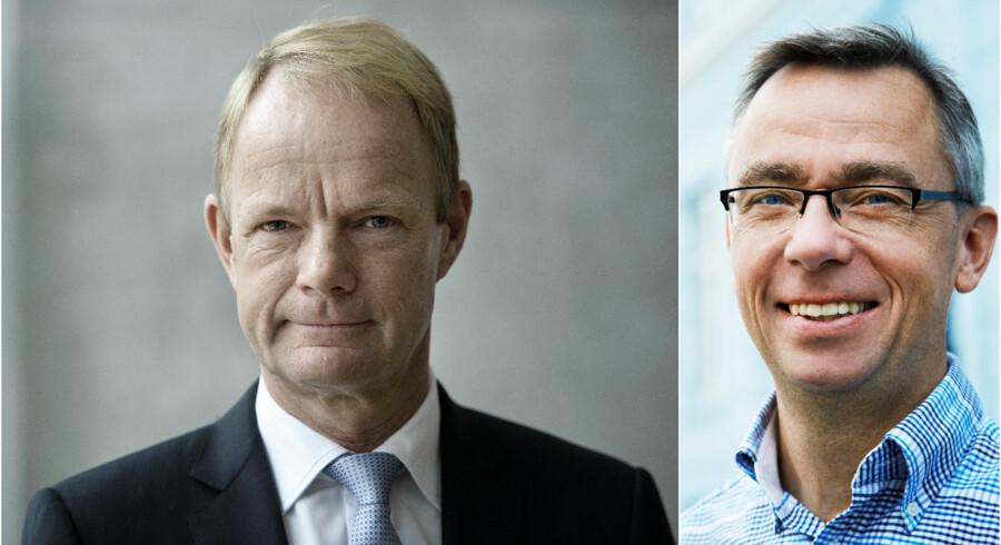 Kåre Schultz og Per Hansen