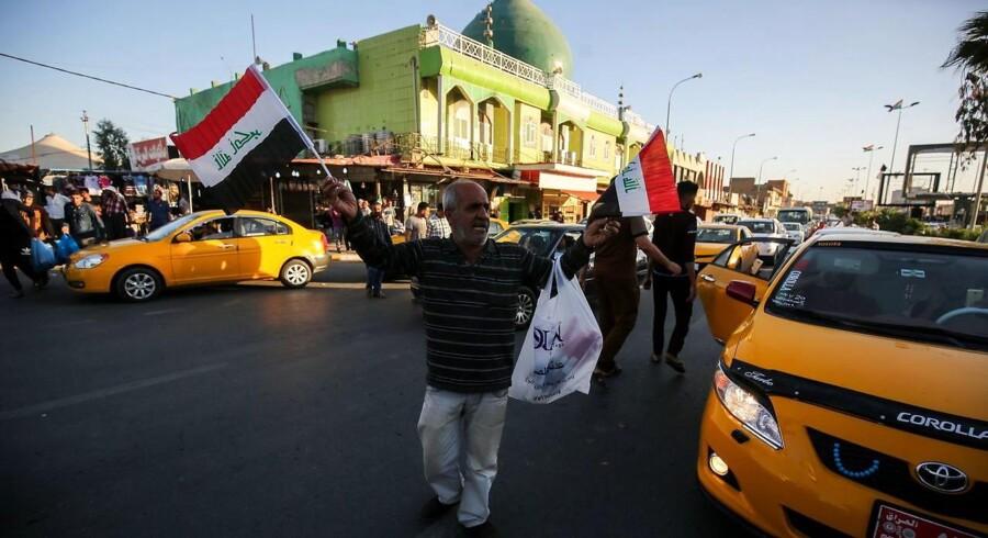 Mandag sagde Iraks hær, at den har fuld kontrol med Kirkuk efter fremrykning i kurdisk-kontrollerede områder.