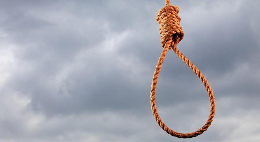 Stockfoto: Færre blev registreret henrettet i 2016, men flere blev samtidig idømt dødsstraf.