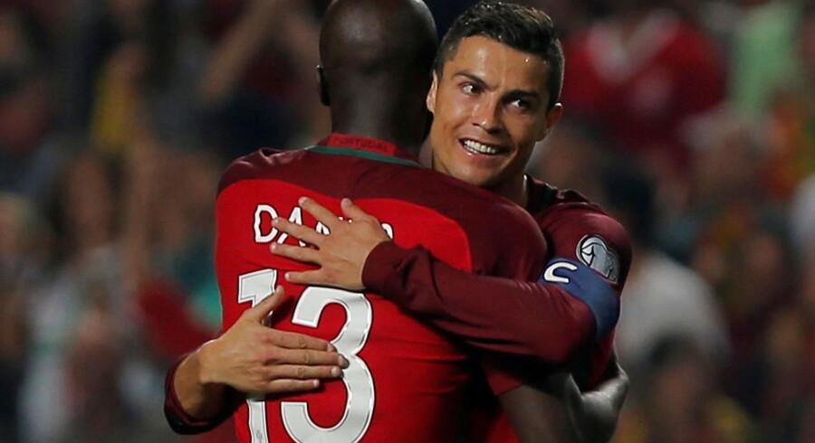 Arkivfoto. De forsvarende europamestre fra Portugal er optimistiske, efter at VM-billetten tirsdag kom i hus mod Schweiz.