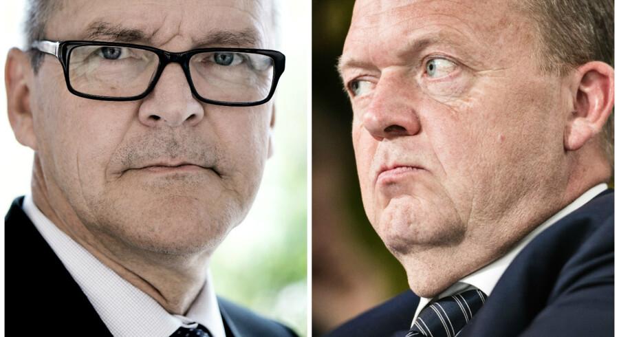 Lars Løkke bør trække foden fra speederen. Sådan lyder meldingen fra nationalbankdirektør Lars Rohde, der onsdag fremlagde Nationalbankens kvartalsrapport.