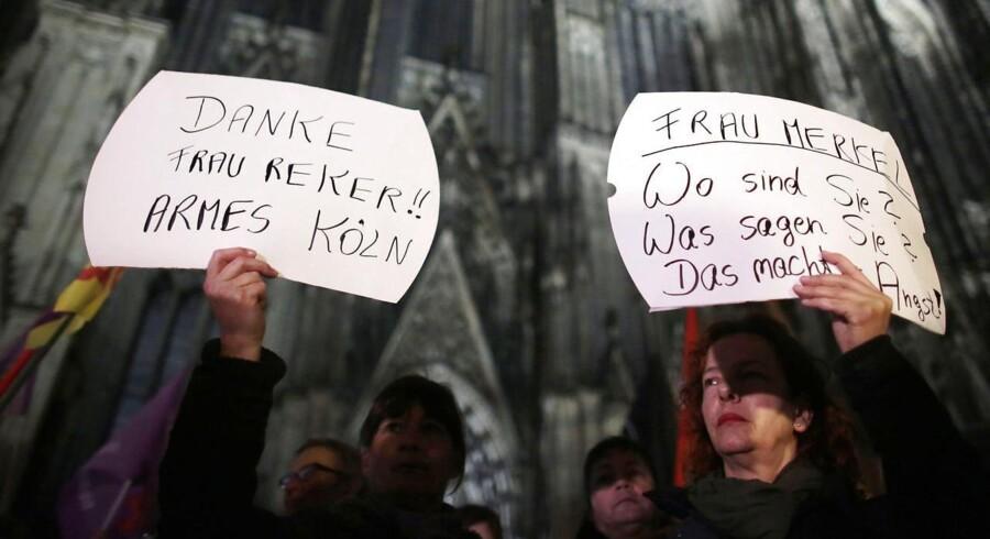 Protesterne mod udtalelser af Kølns kvindelige overborgmester om den måde, kvinder bør opføre sig i det offentlige rum for at sikre sig selv, er højlydte.