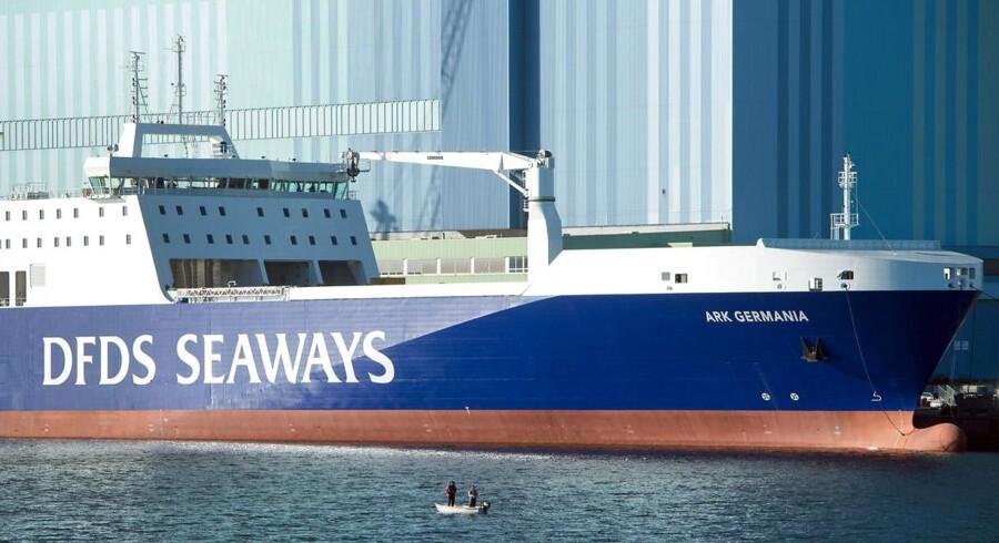 Arkivfoto: Rederiet DFDS nedjusterer forventningerne til omsætningen i 2017 og præciserer forventningerne til driftsindtjeningen.