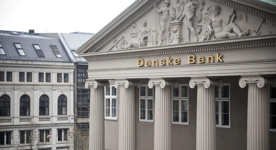 Genrebillede af Danske Bank på Kongens Nytorv. Foto: Mads Joakim Rimer Rasmussen