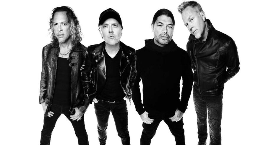 Efter otte års pause er Metallica tilbage med det nye album »Hardwired... To Self Destruct«