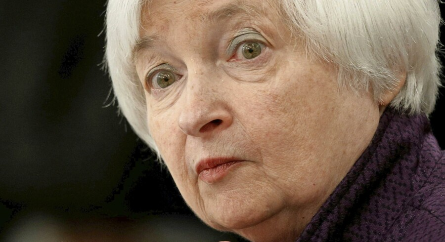 Federal Reserves formand Janet Yellen