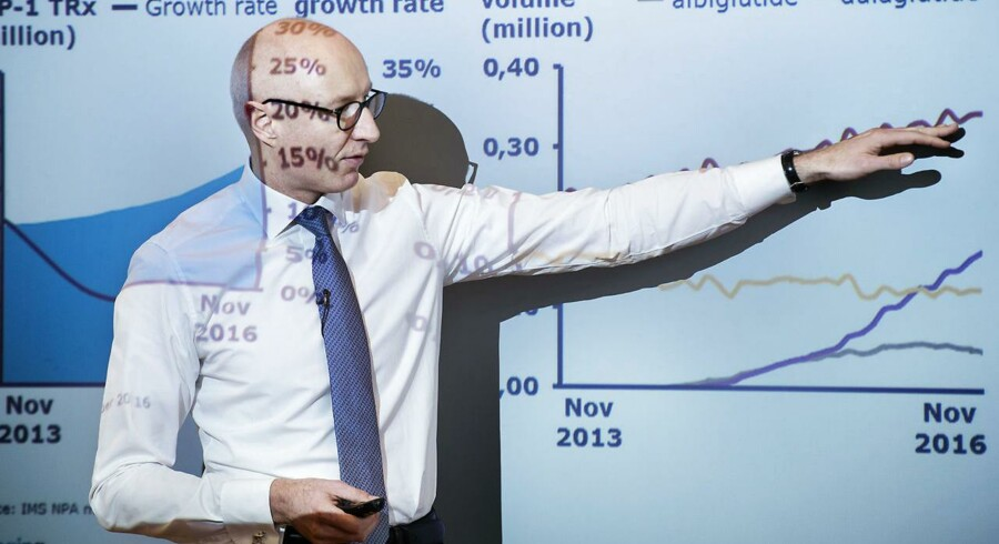 Novo-topchef Lars Fruergaard Jørgensen kommer til at give større rabatter til den amerikanske stat i 2019.