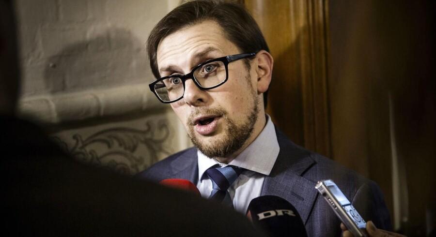 »Det er ikke et pengespørgsmål. Det er et spørgsmål om højere kvalitet,« siger økonomiminister Simon Emil Ammitzbøll.