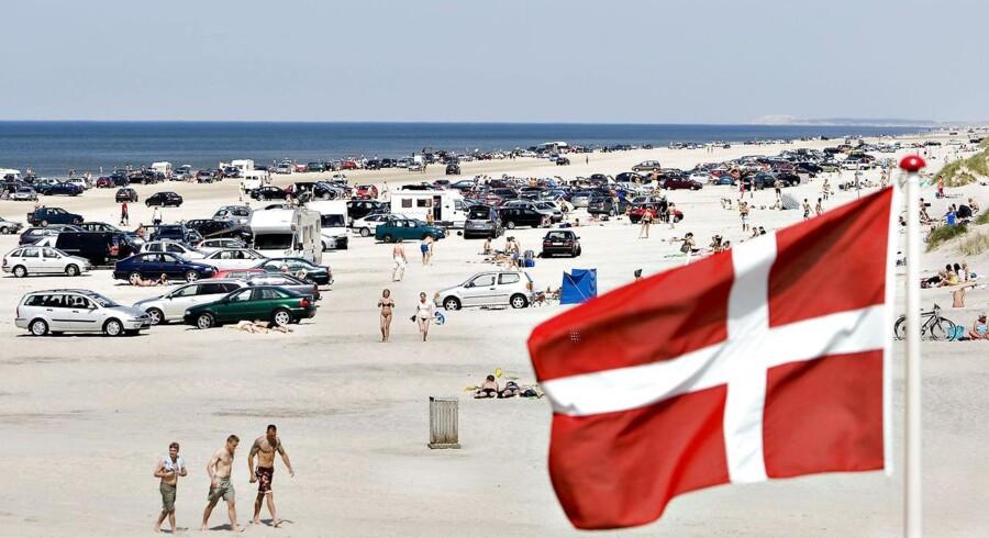 Stranden ved Blokhus, 31. maj 2008.