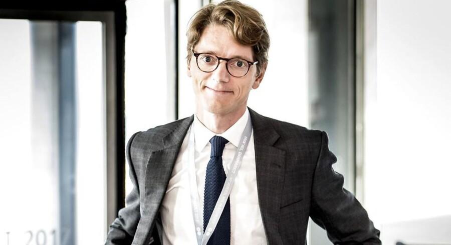 Robert Maersk Uggla, CEO for A.P. Møller Holding A/S og medlem af Mærsk gruppens bestyrelse