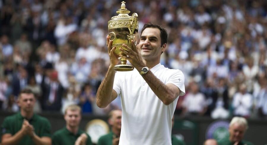 »Turneringen, jeg har spillet uden at tabe et sæt, har været helt magisk, og jeg har stadig svært ved at forstå det. Det er næsten alt for meget,« lød det fra Federer.