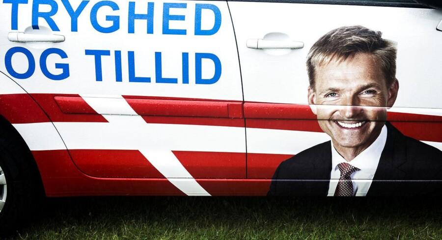 ARKIVFOTO. Kristian Thulesen Dahl fra DFs valgbil.