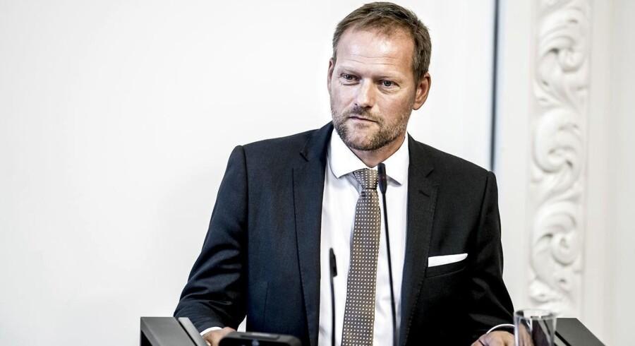 Finansordfører Rene Christensen (DF). (Foto: Mads Claus Rasmussen/Ritzau Scanpix)