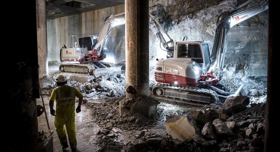 Verdensbanken har netop kåret Danmark til igen i år at have det bedste erhvervsklima i Europa og det tredjebedste på verdensplan, og der er heller ikke meget der tyder på, at industrivirksomhederne er ved at falde i søvn i Danmark. (Arkivfoto: Metro. Rundtur under jorden i Cityringen)