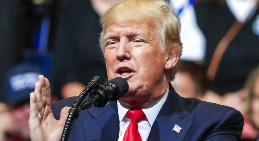 Arkivfoto. USA's præsident har tidligere antydet, at han havde optaget sin samtaler med nu fyret FBI-chef.