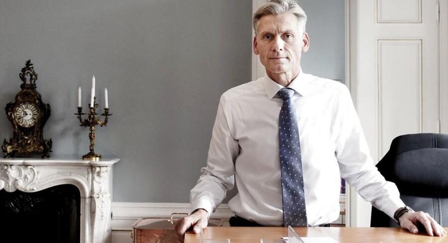 Thomas Borgen, topchef i Danske Bank, lancerer nu en omfattende undersøgelse af forholdene i betændt estisk filial.