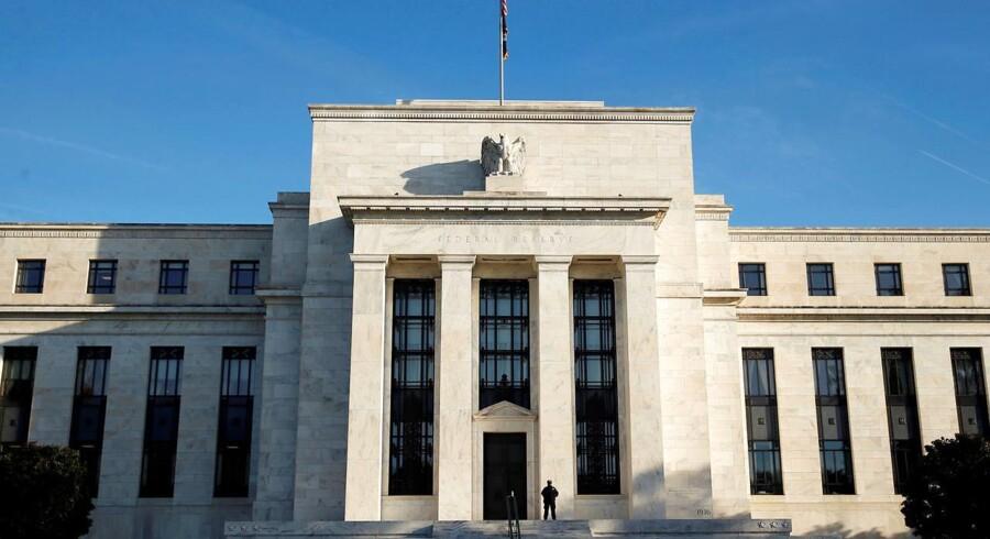 Den amerikanske centralbank, Federal Reserve, i Washington, DC