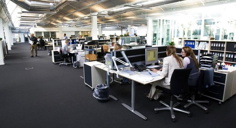 Ifølge en ny undersøgelse fra Business Danmark er 33 procent på jagt efter et nyt job.