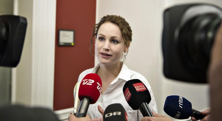 Akrivfoto: Enhedslistens Pernille Skipper.