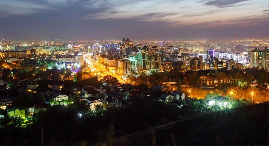 Arkivfoto. De tre billigste destinationer er Almaty i Kasakhstan, Bukarest i Rumænien og Kiev i Ukraine.