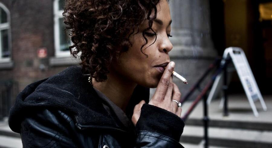 ARKIVFOTO. Socialdemokratiet mener, at Folketinget bør vedtage en række tiltag for at bremse udviklingen med at flere unge ryger.