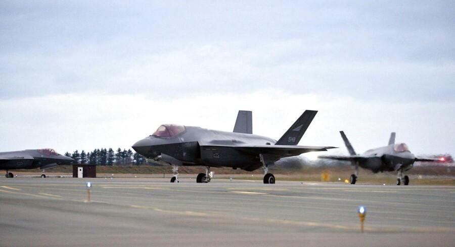 Der er nu grønt lys for køb af nye F-35-fly til det danske militær.
